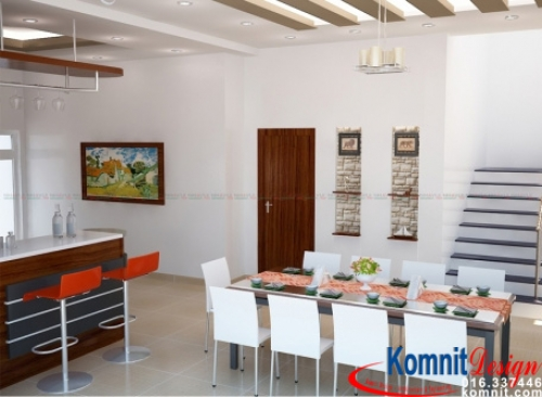 Khmer Interior Dining Room DR-0097 in Cambodia